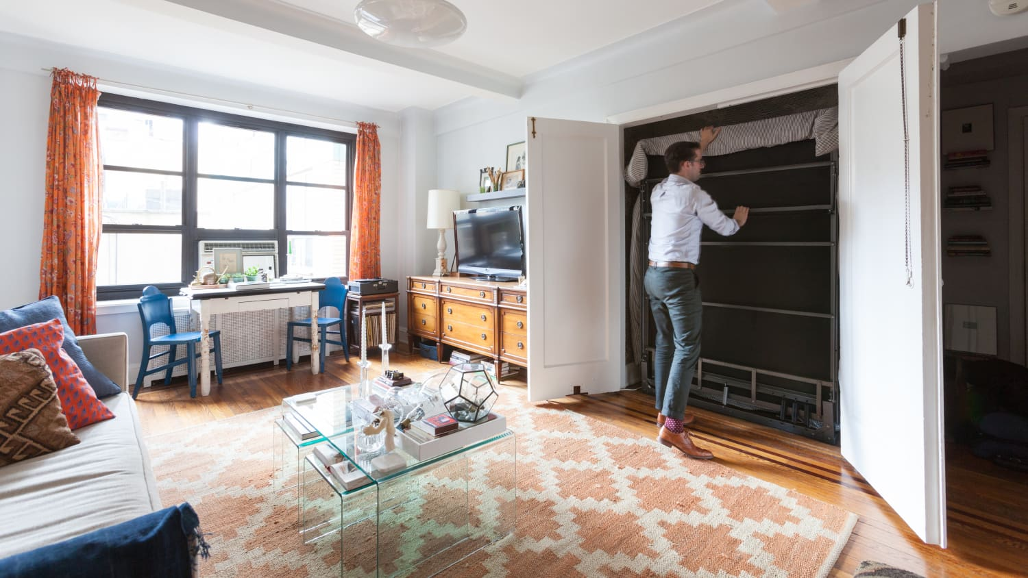 Murphy Bed Projects For Small Spaces Apartment Therapy