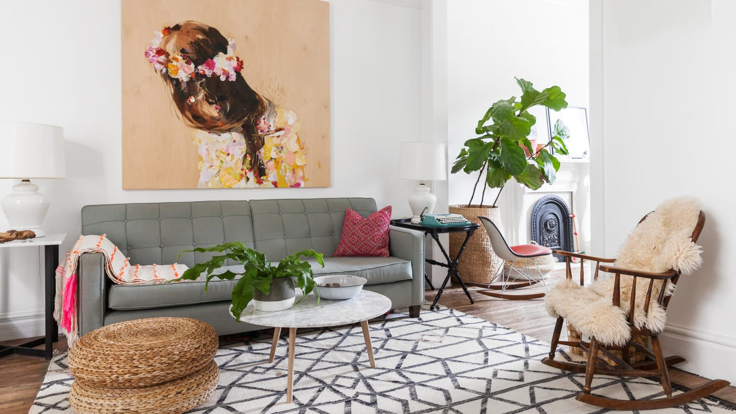 Floor Seating Ideas: Cushions, Poufs, And Pillows | Apartment Therapy