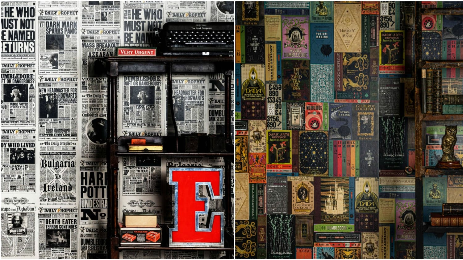 Turn Your House Into Hogwarts With Harry Potter Wallpaper