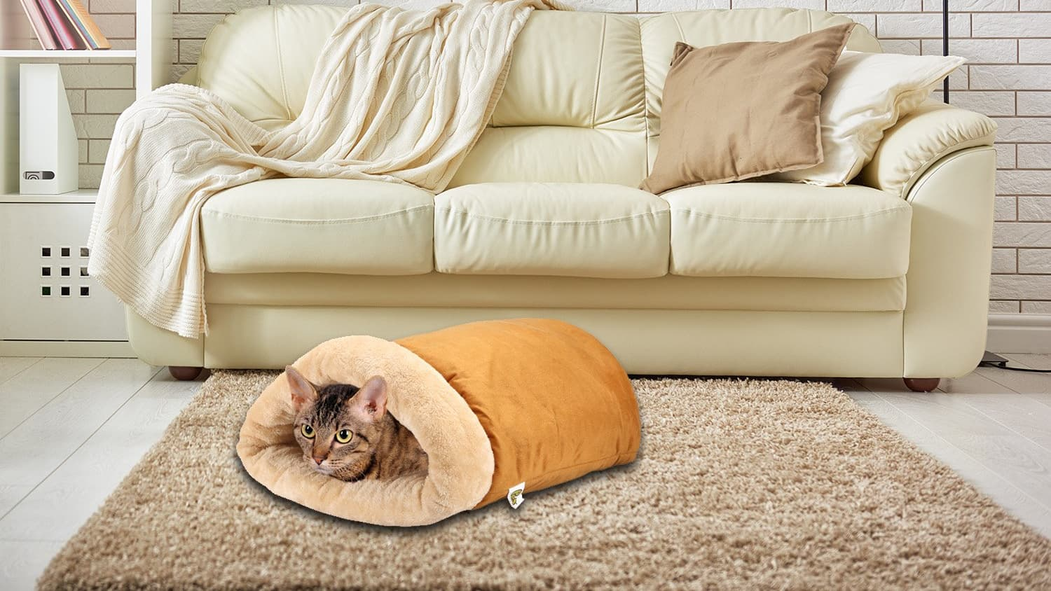 Cat Burrito Bed Apartment Therapy
