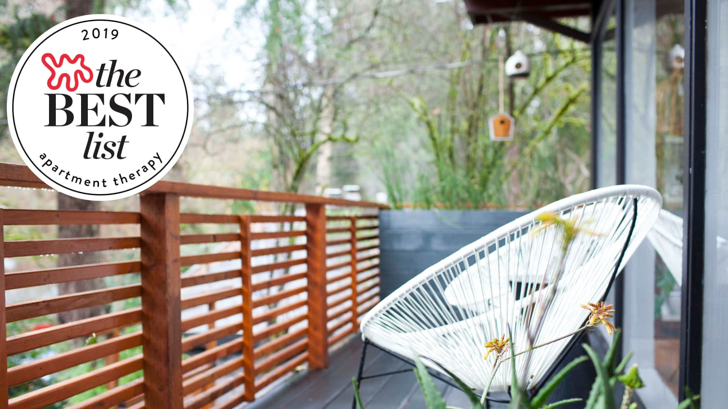 Small Space Outdoor Furniture For Patios And Balconies | Apartment Therapy