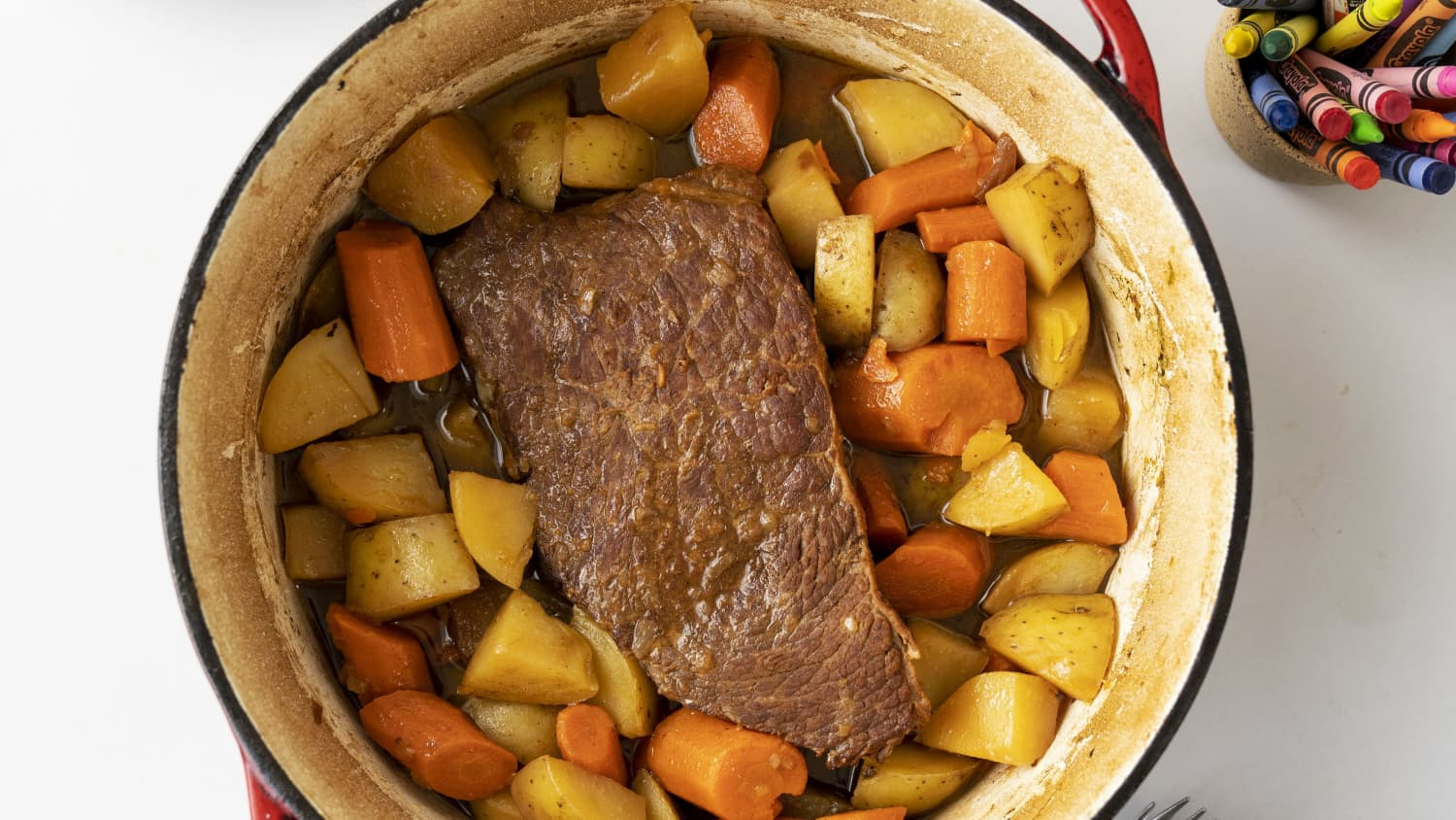 Easy Melt In Your Mouth Dutch Oven Pot Roast Kitchn