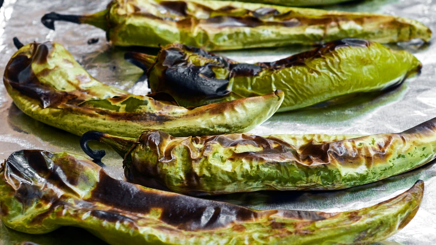How To Roast And Freeze Green Chiles Kitchn