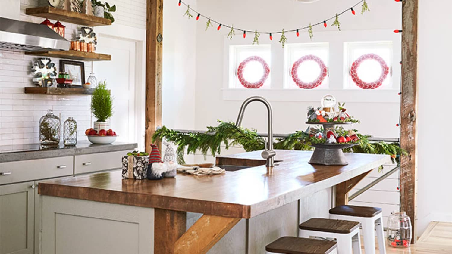 The Cutest Holiday Way To Light Up The Kitchen Kitchn