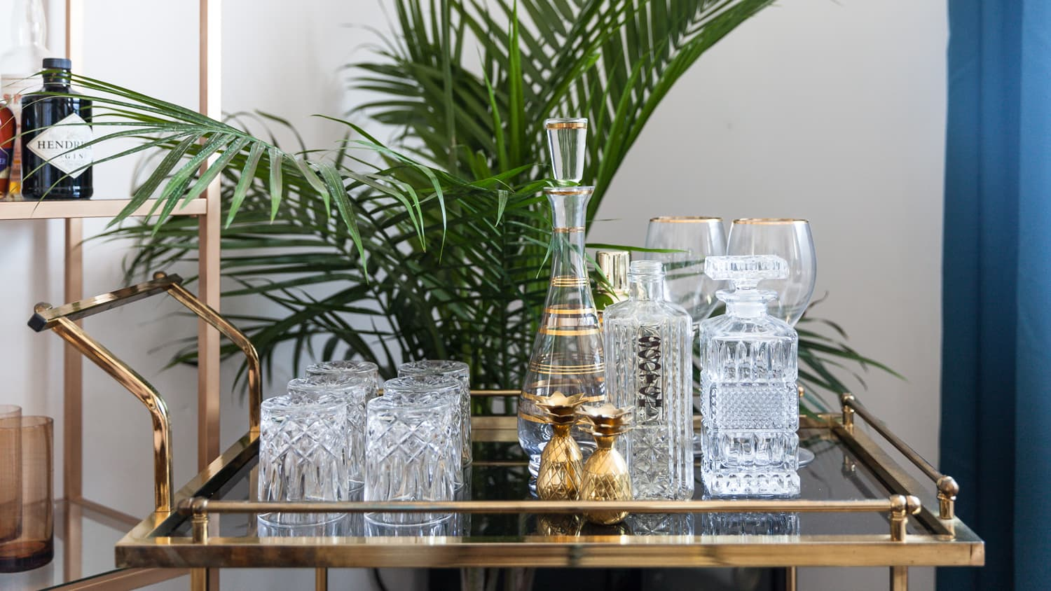 How To Design A Stylish And Useful Bar Cart Apartment Therapy
