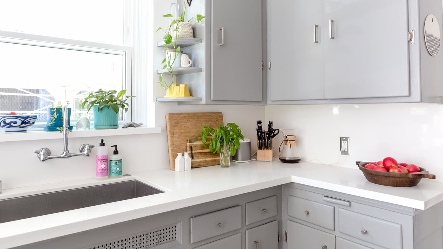 5 Smart Ways To Use Your Kitchen Window For Extra Storage Kitchn