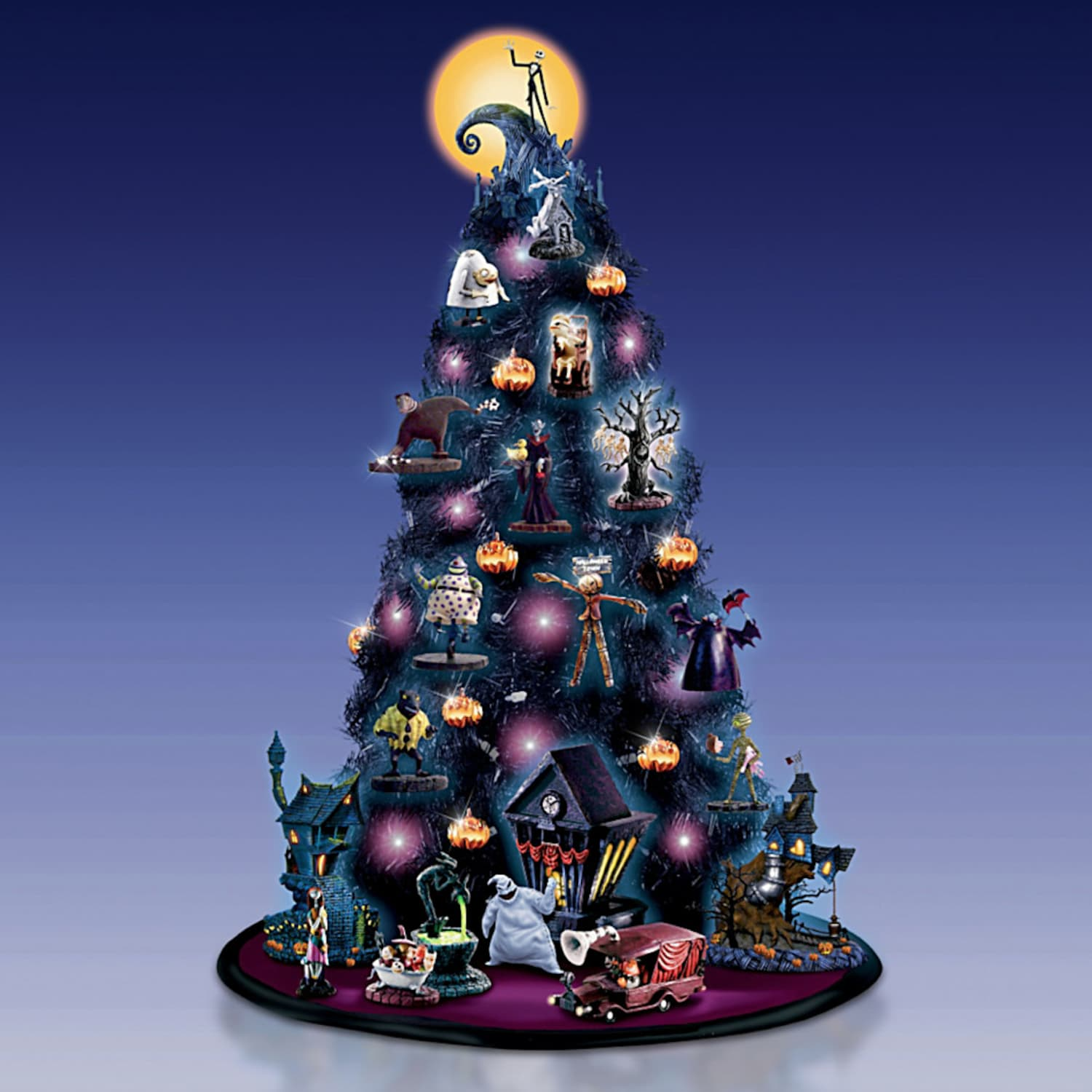 A Nightmare Before Christmas Tree Is Here For Halloween Apartment Therapy