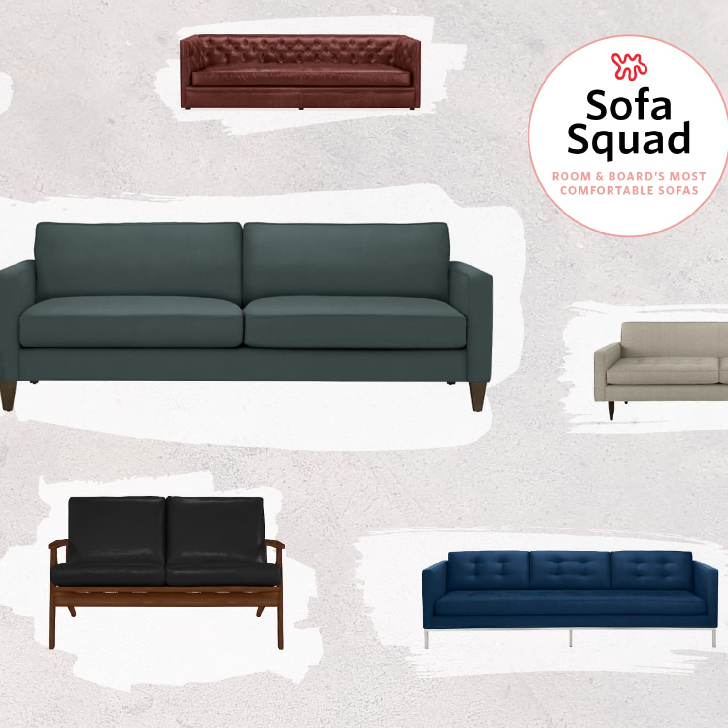- The Most Comfortable Sofas At Room & Board Apartment Therapy