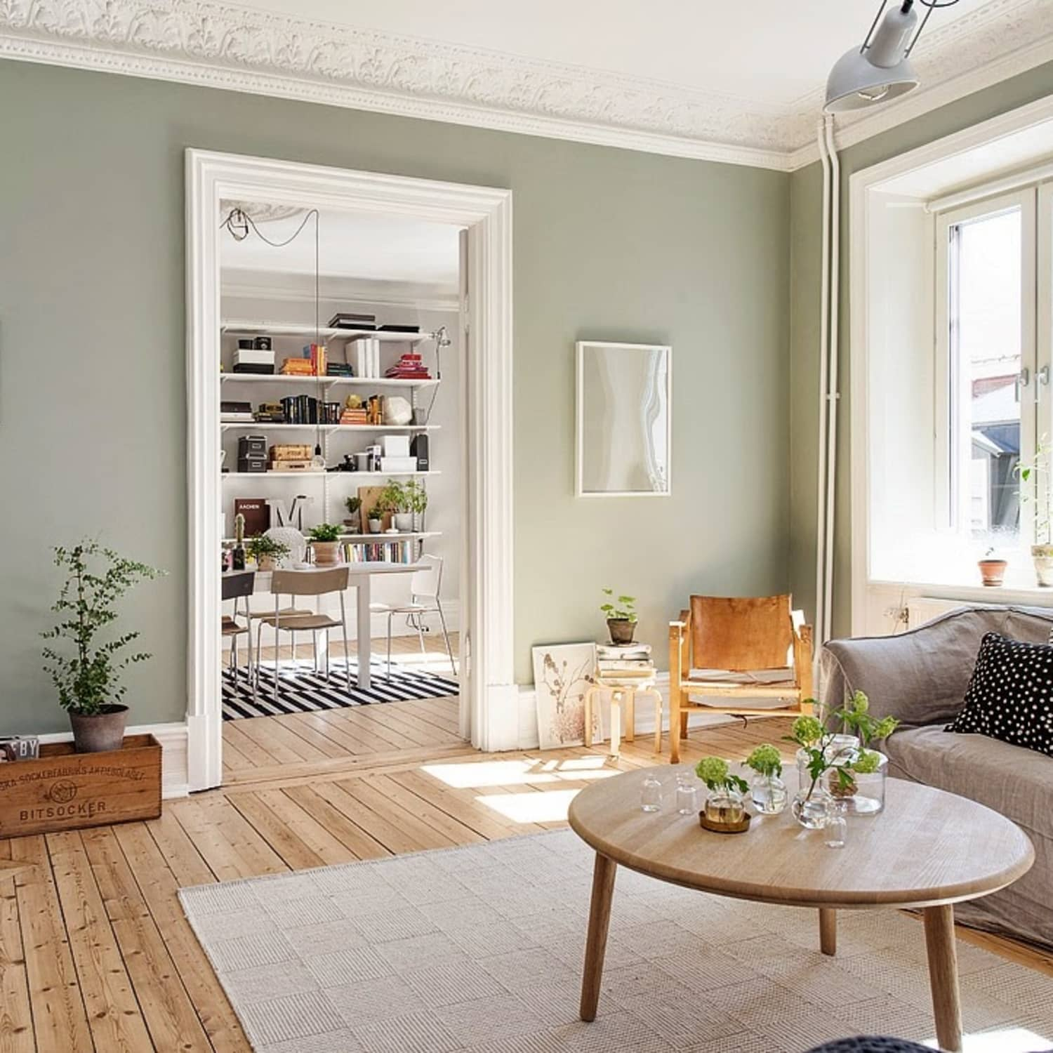 2018 New Neutral Pinterest Trend Sage Green Apartment Therapy