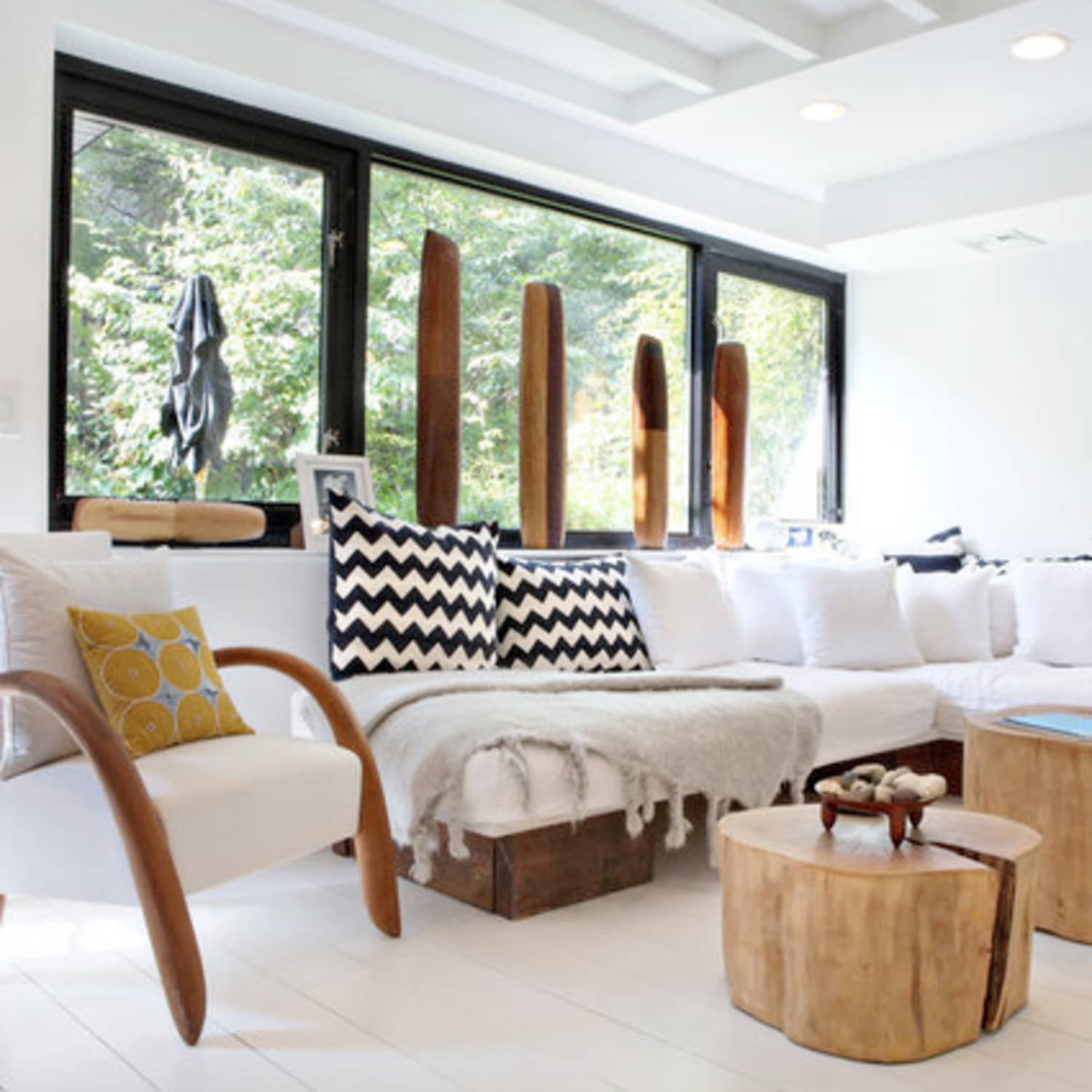 Organic Modern Living Room: Get The Look   Apartment Therapy