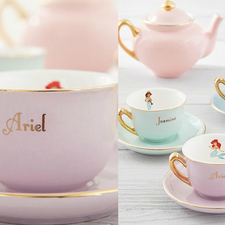 Pottery Barn Kids Sells A Disney Princess Tea Set Apartment Therapy