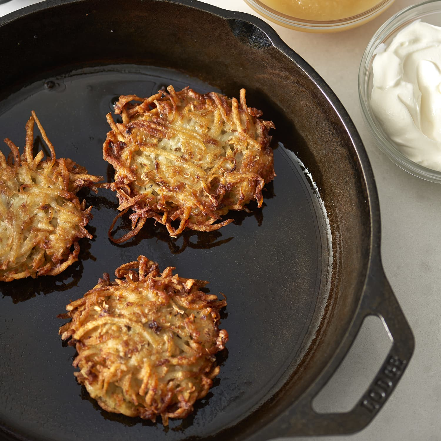 How To Make Classic Latkes The Easiest Simplest Method Kitchn