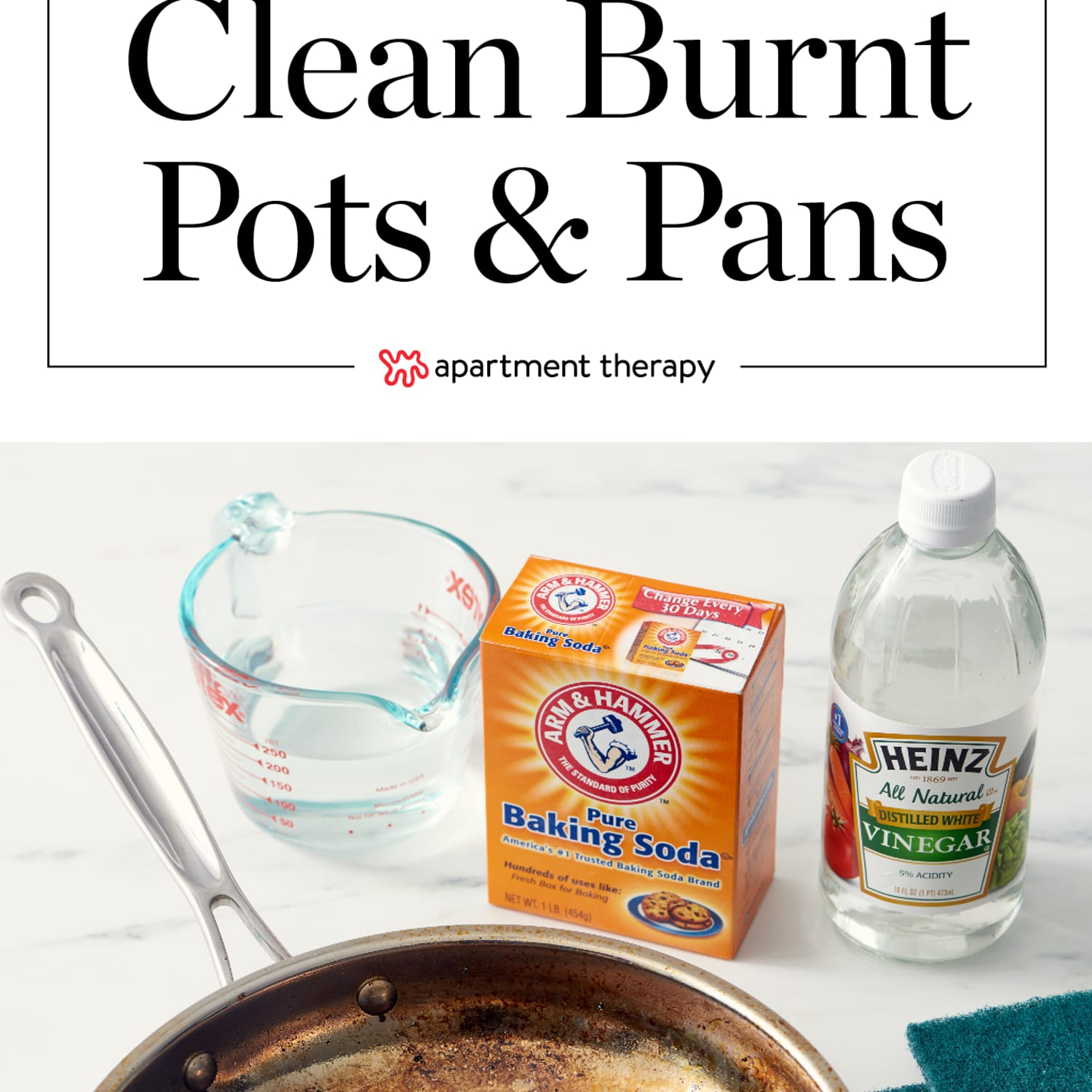 How to Clean a Burnt Pot or Pan - How Do You Clean Scorched