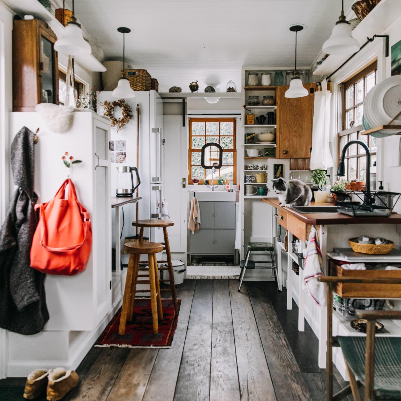 Tiny House Kitchens Decorating And Storage Ideas Kitchn