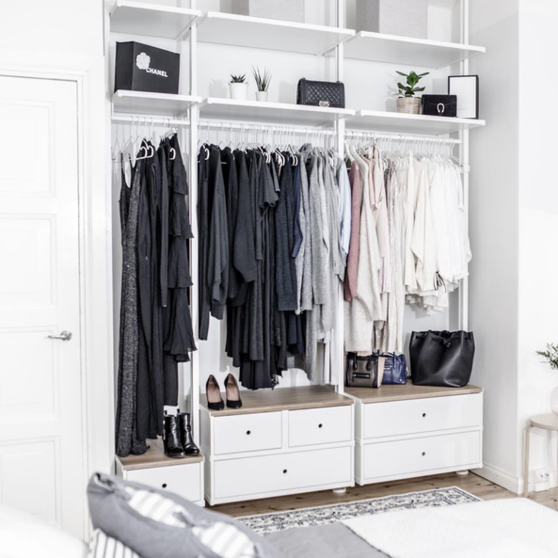 IKEA Closets to Create a Custom Closet Look  Apartment Therapy