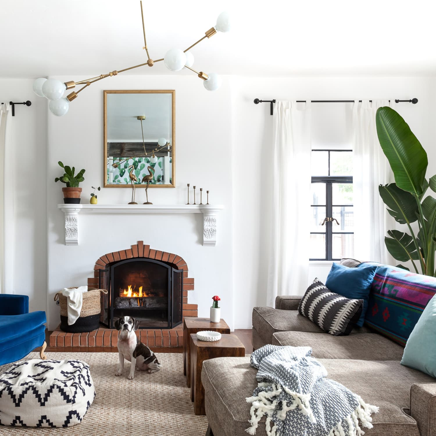 fireplace decorating ideas for your living room | apartment