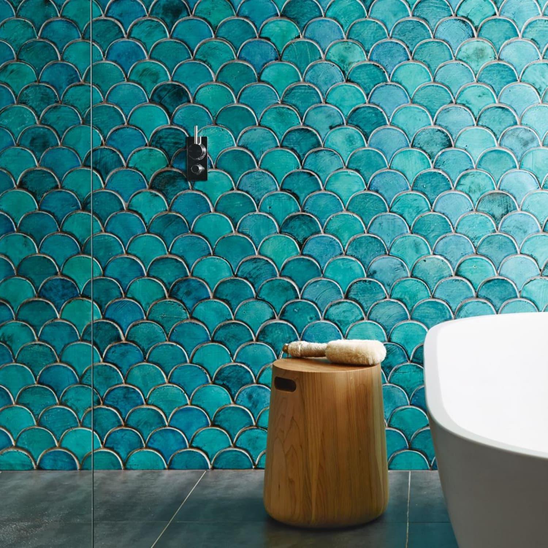 - Tile: Best Sources For Fish Scale, Fan & Scallop Design