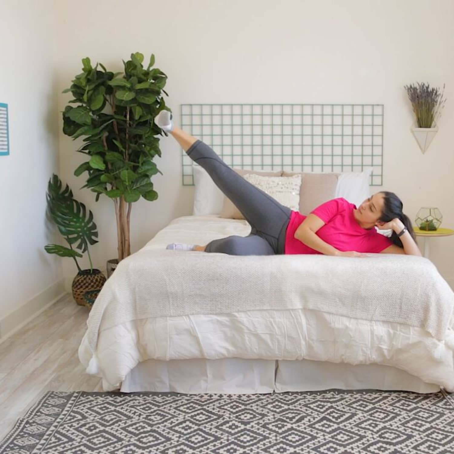 Bed Workout 13 Exercises To Do Without Leaving Bed Apartment Therapy