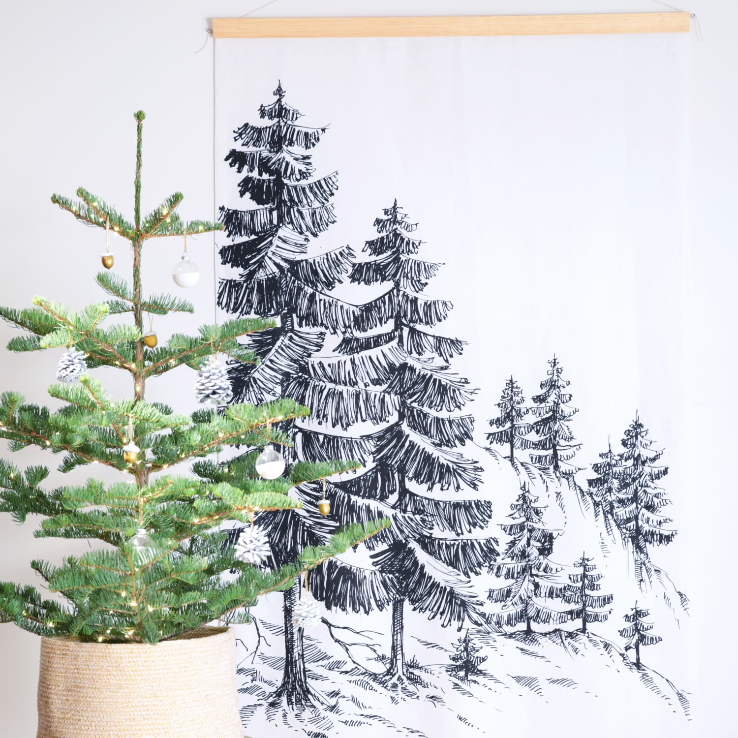 Christmas Fabric Wall Hangings You Can Make Yourself Apartment Therapy