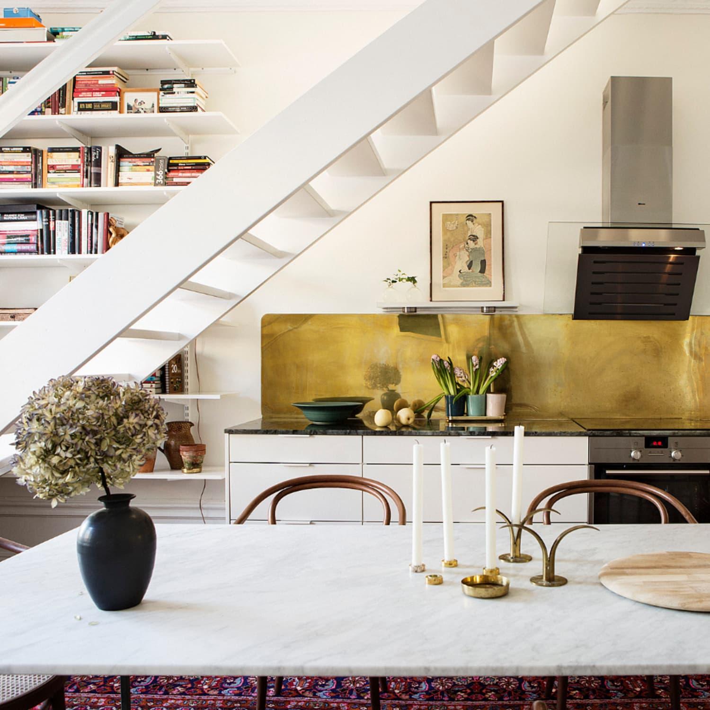 - Kitchen Backsplash Ideas: Go Metallic! Apartment Therapy