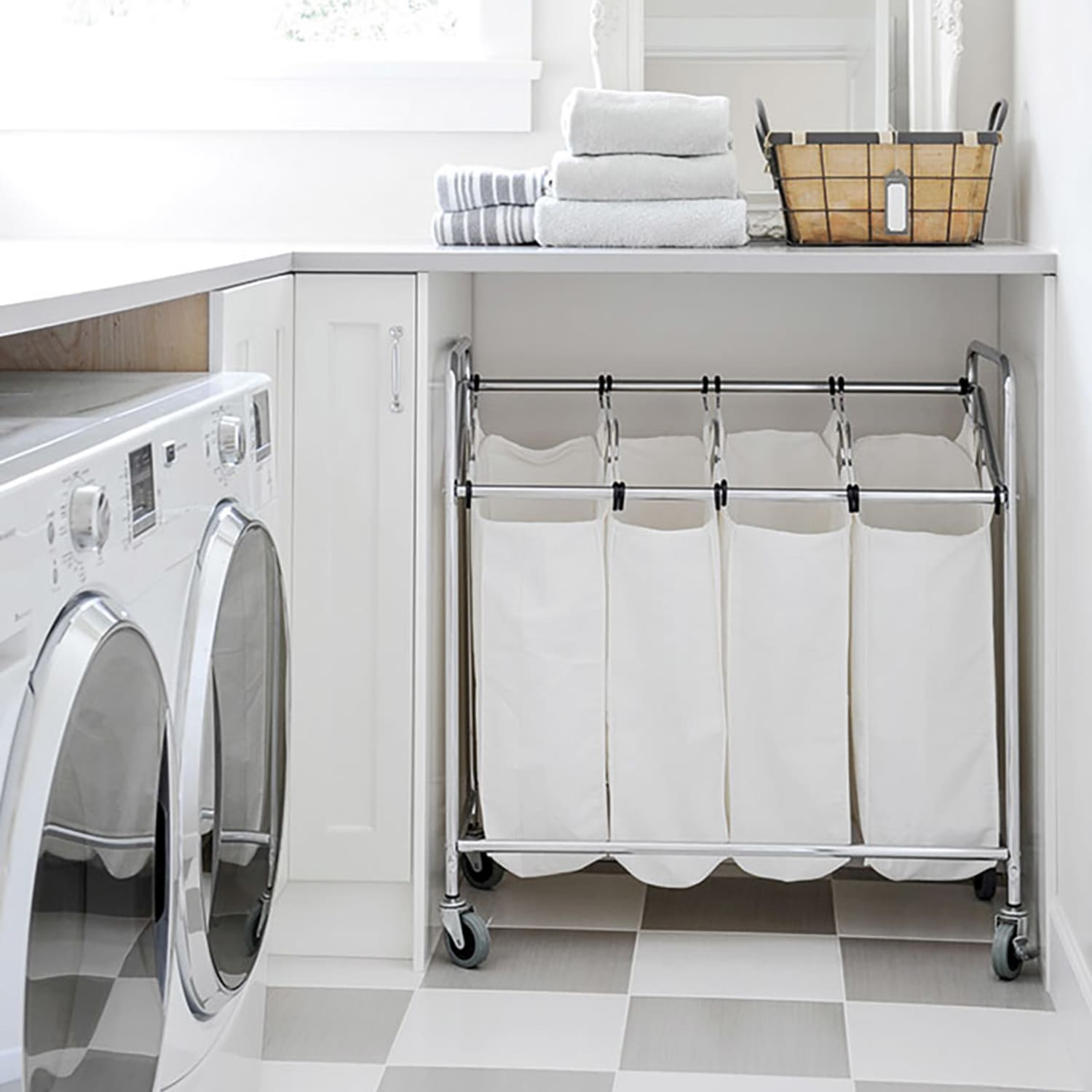 Clever Ideas to Make the Most of a Small Laundry Room  Apartment