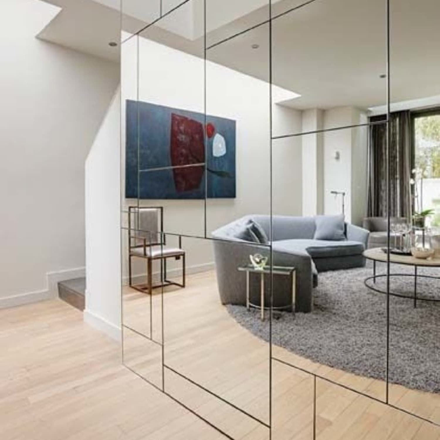 Making Mirrored Walls Modern Seven Ideas To Steal Apartment Therapy
