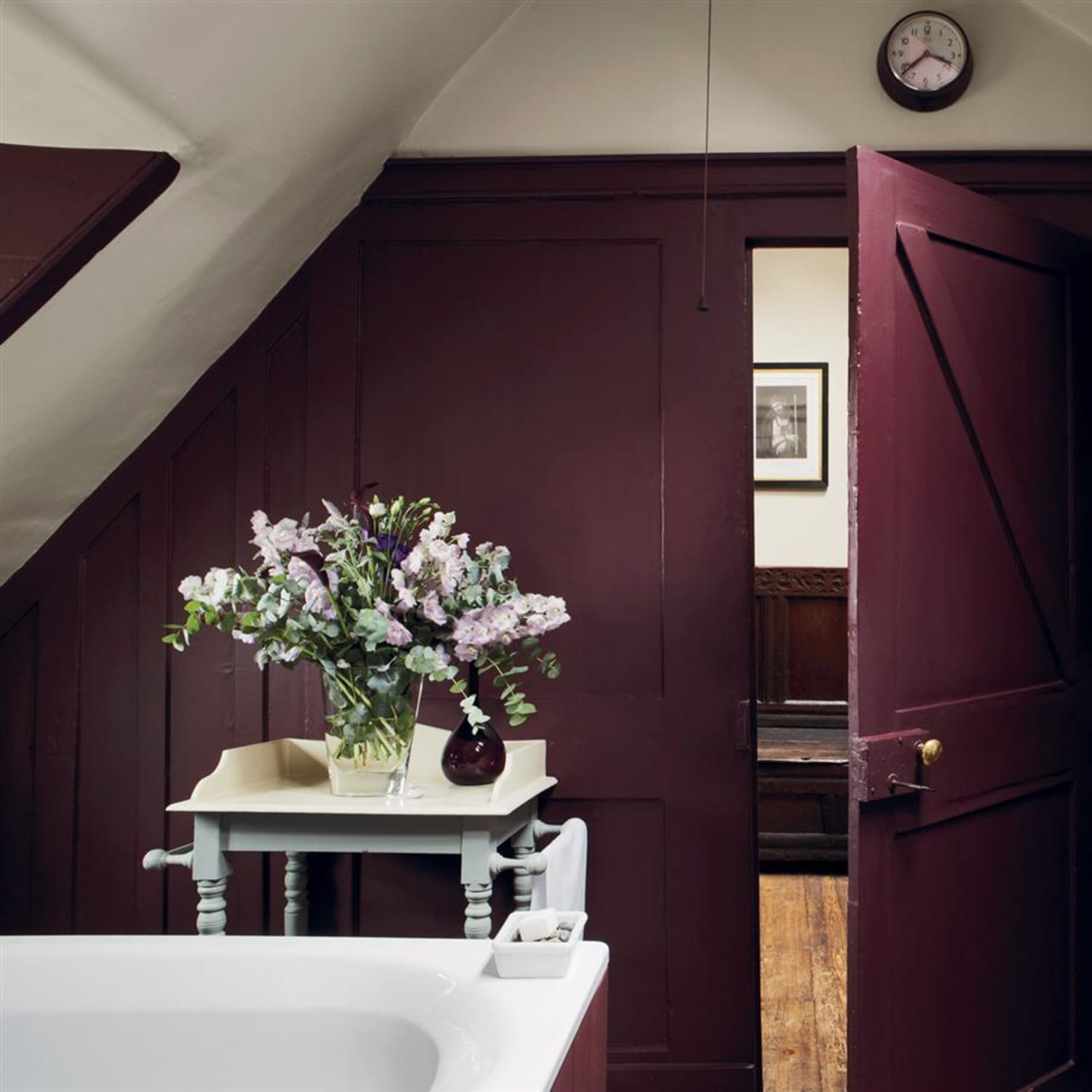 Aubergine Is The Interior Design Color Of The Moment Apartment Therapy