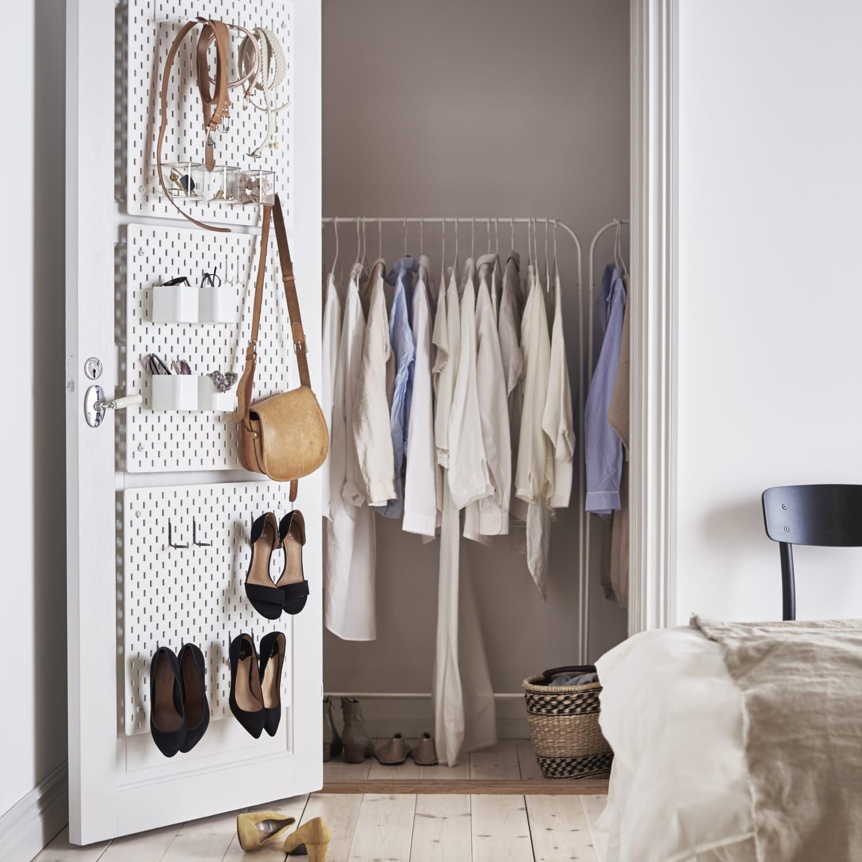Ikea Skadis Pegboard Ideas Inspiration Apartment Therapy