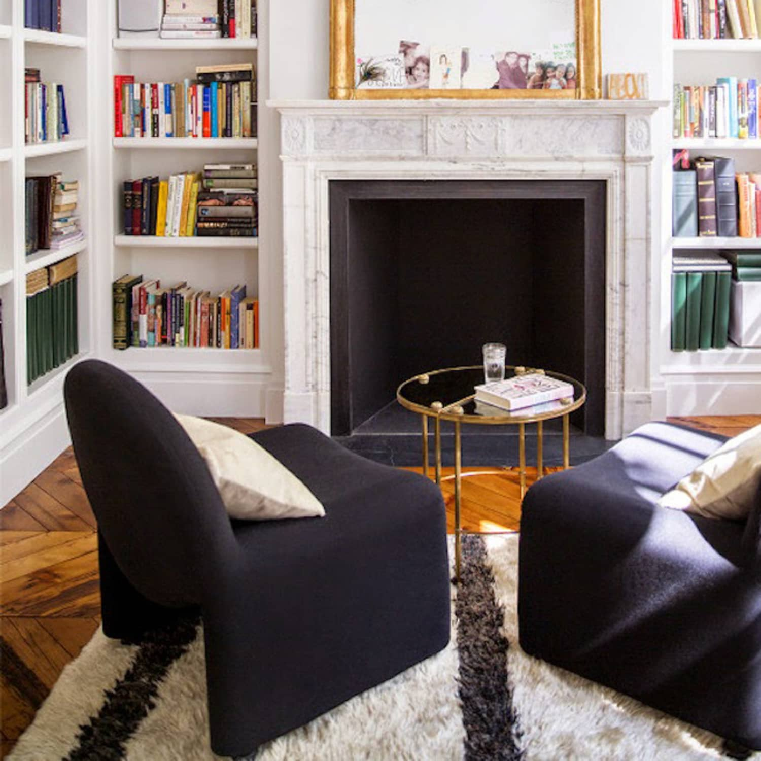 How To Set Up Your Living Room Without A Focus On The Tv Apartment Therapy