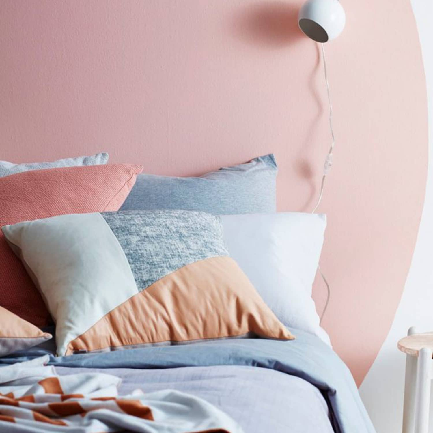 Bed Without A Headboard 11 Headboard Alternatives To Use Instead Apartment Therapy