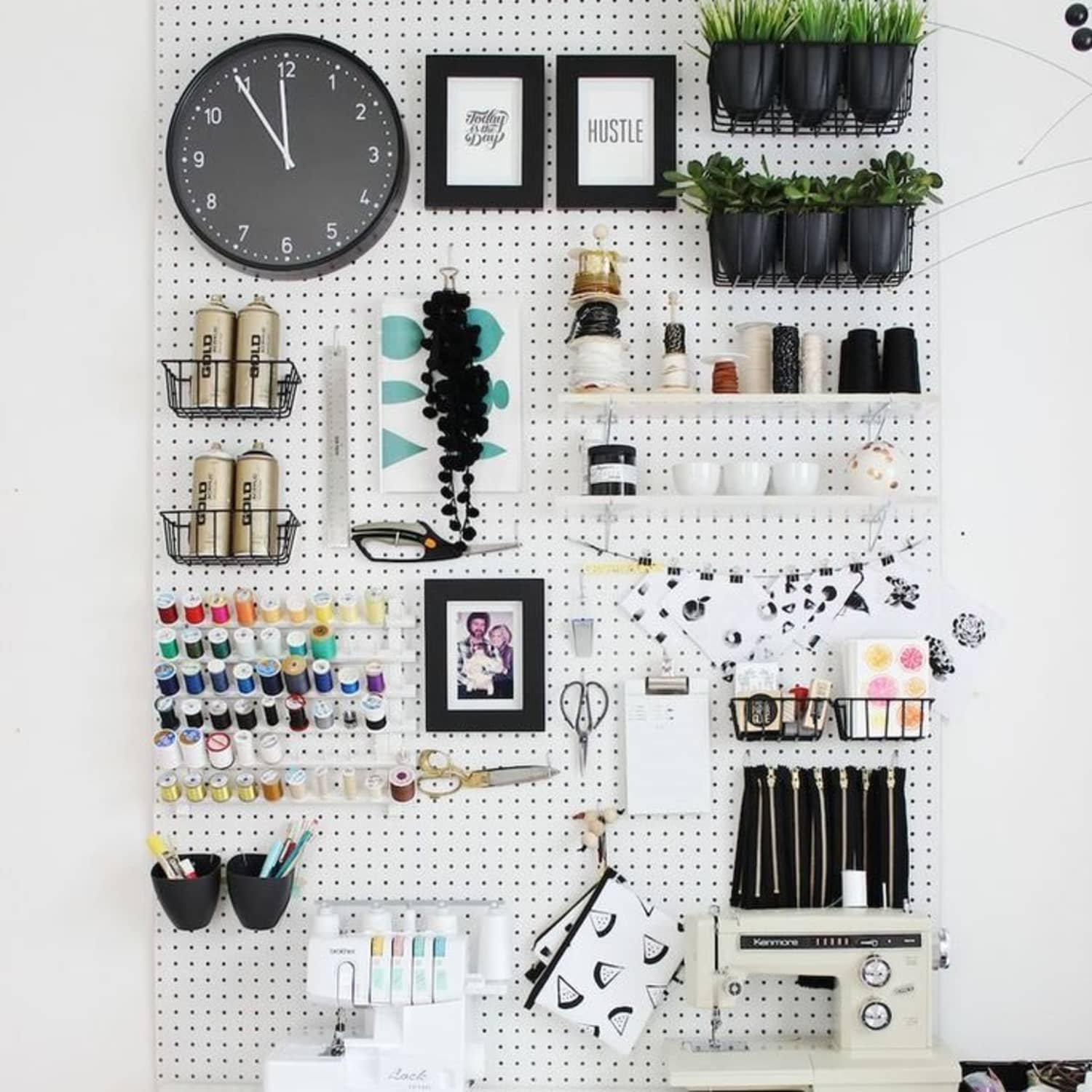 10 More Clever Things To Do With Pegboard Apartment Therapy