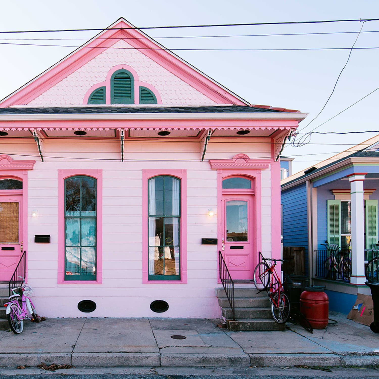 Unusual Exterior Paint Color Combos That Actually Look Really Great Apartment Therapy