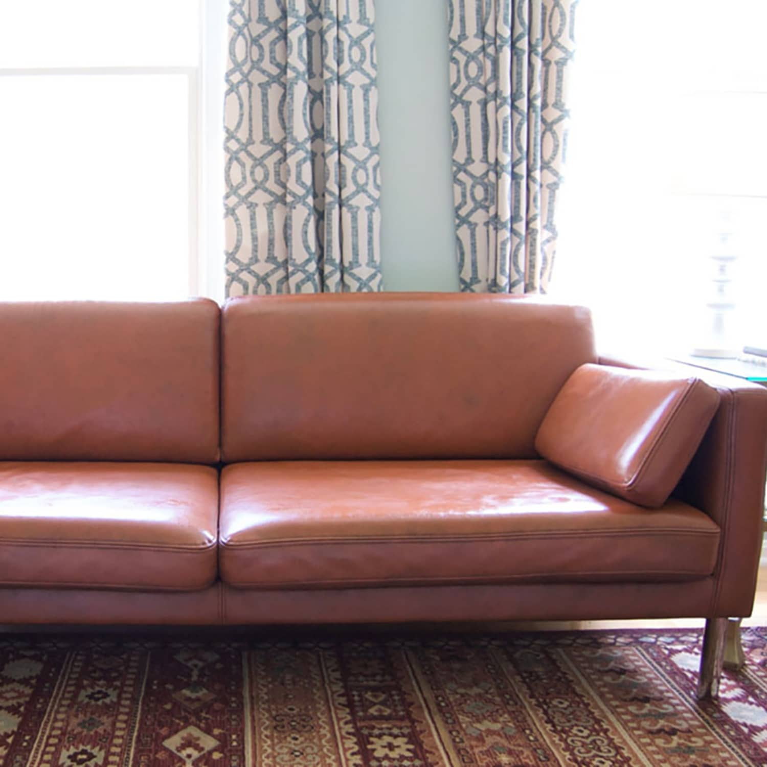 Can You Paint A Leather Sofa Leather Furniture Paint How Tos Apartment Therapy