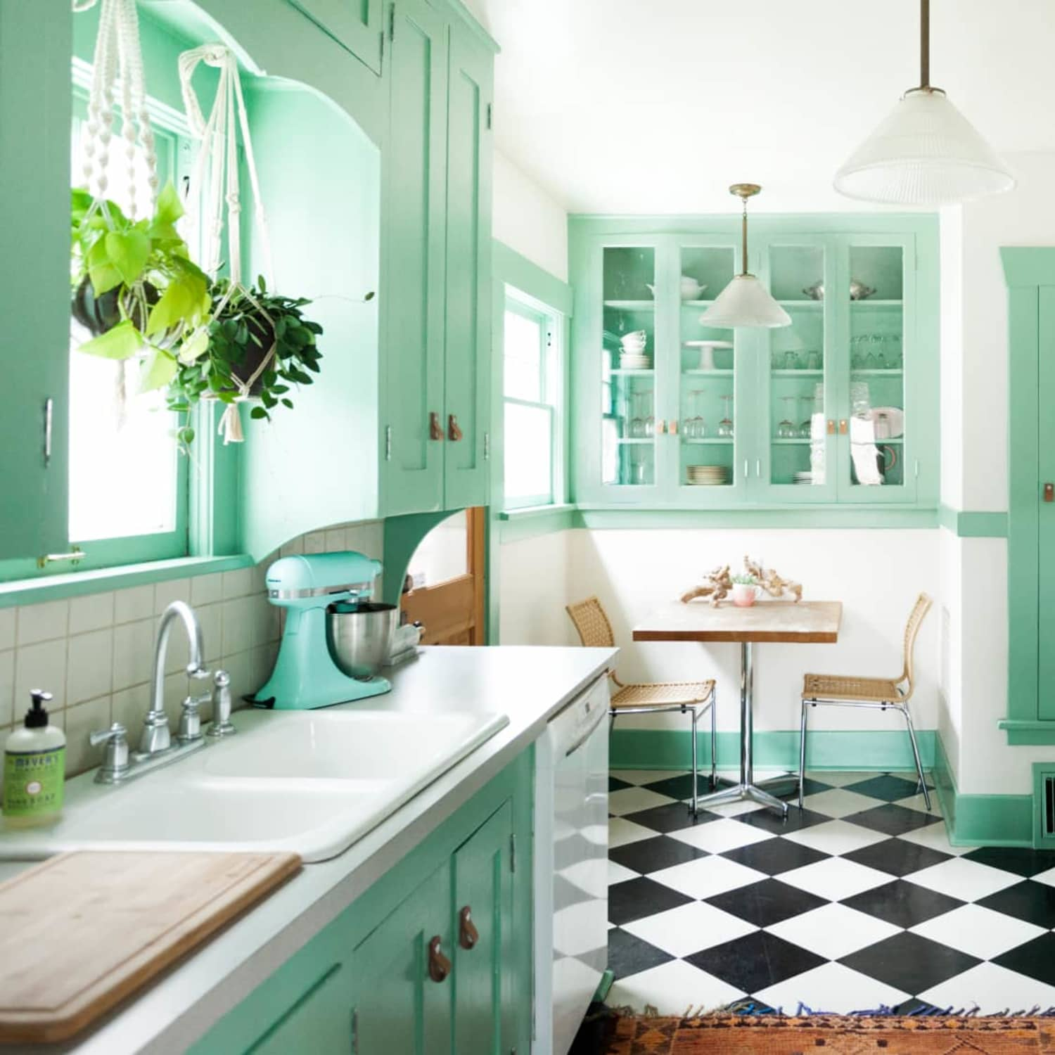 Mint Green Kitchen Inspiration And Ideas Apartment Therapy