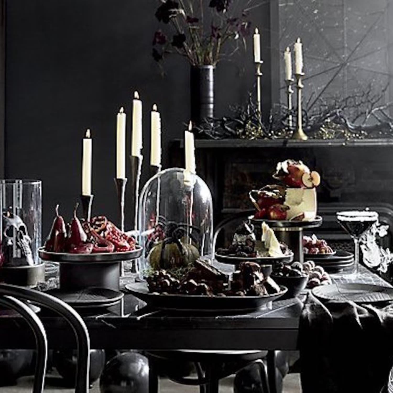 Crate And Barrel Sells Goth Halloween Decor