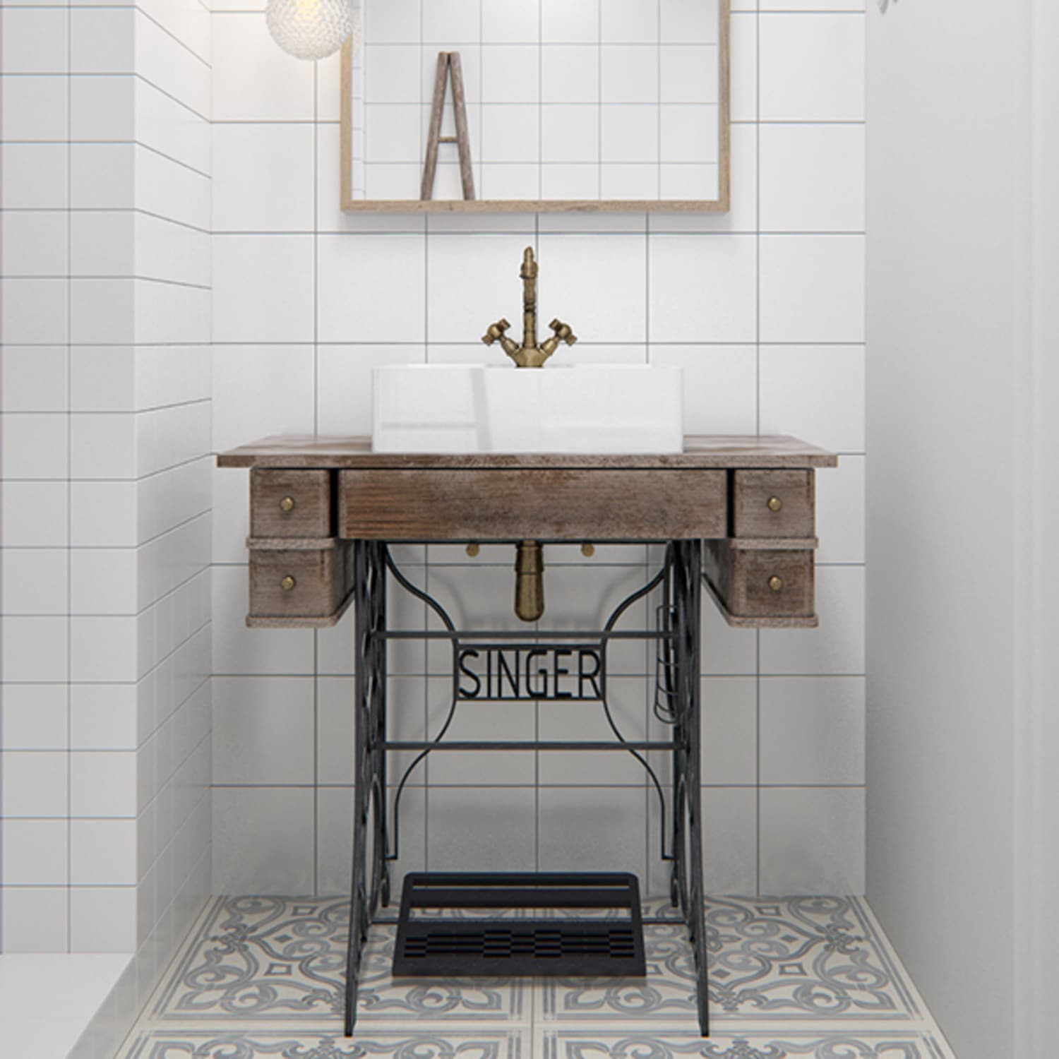 Bathroom Vanity Hacks For Small Spaces Apartment Therapy