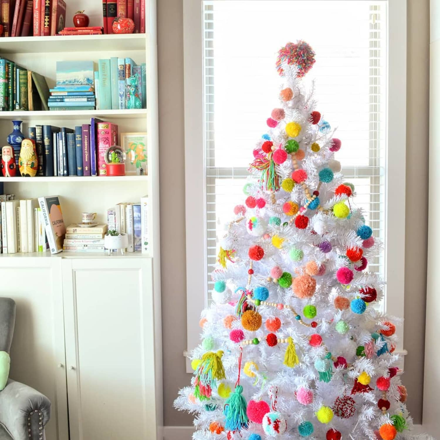 Diy Boho Style Christmas Tree Decorations Apartment Therapy