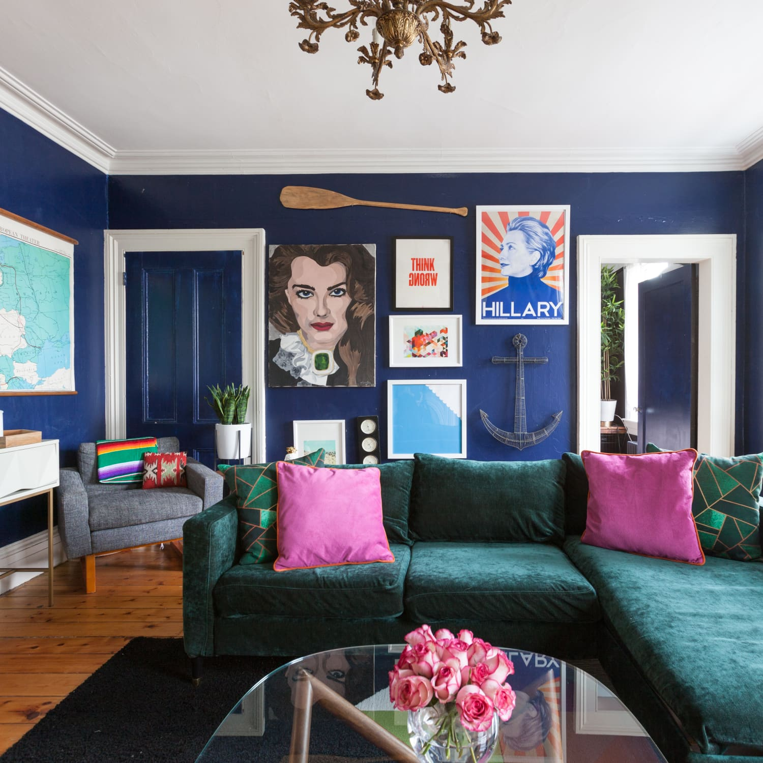 The Best Blue Living Room Wall Colors, According to Real ...