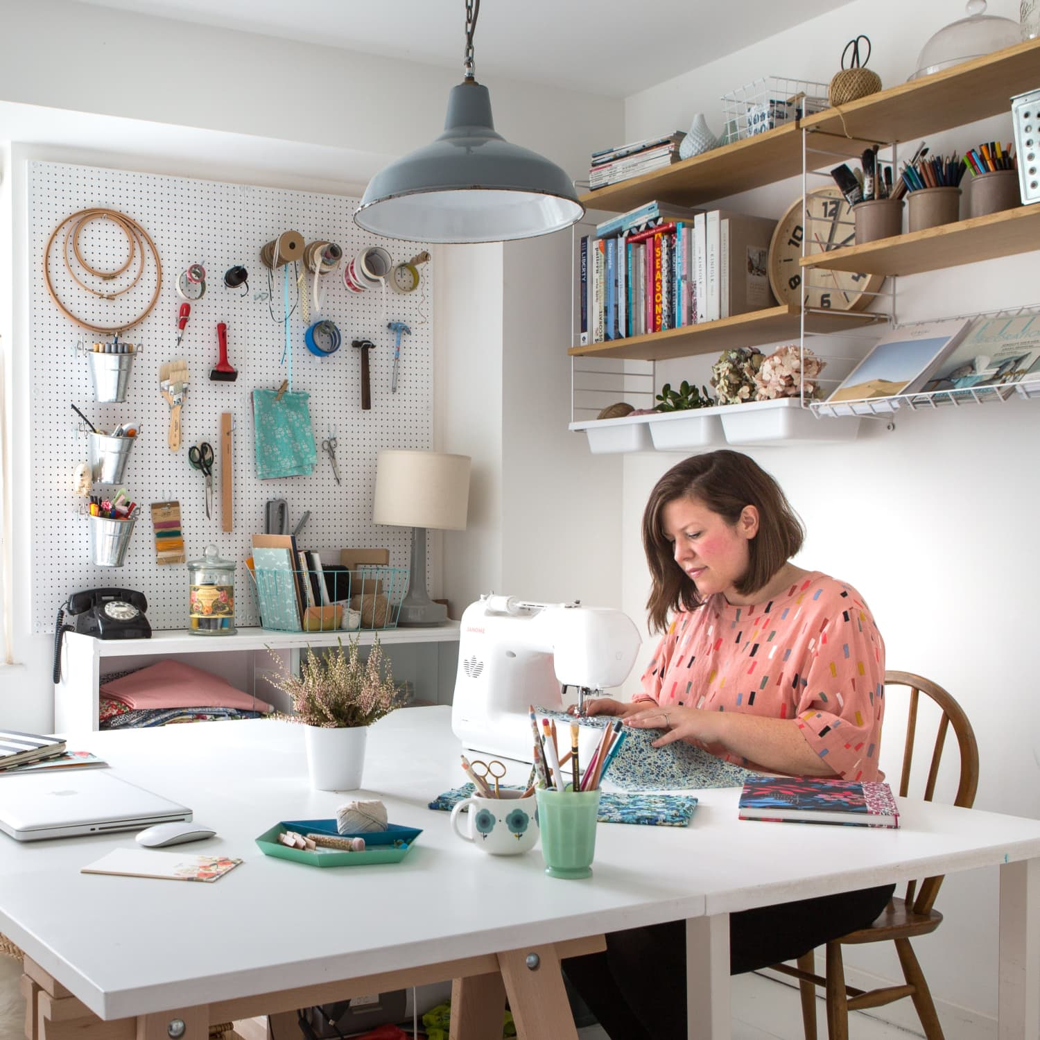 Where We Create A Look Inside Real Life Craft Rooms Art Studios Apartment Therapy