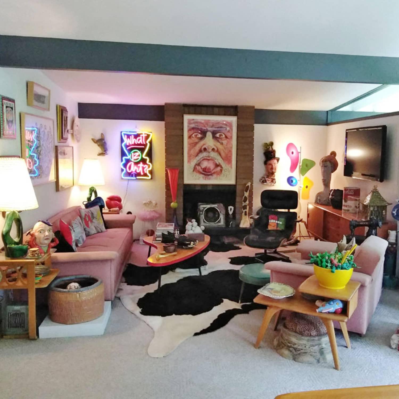 Astounding Tony Natsoulas Sculptor Mid Century Modern Home Tour Ncnpc Chair Design For Home Ncnpcorg