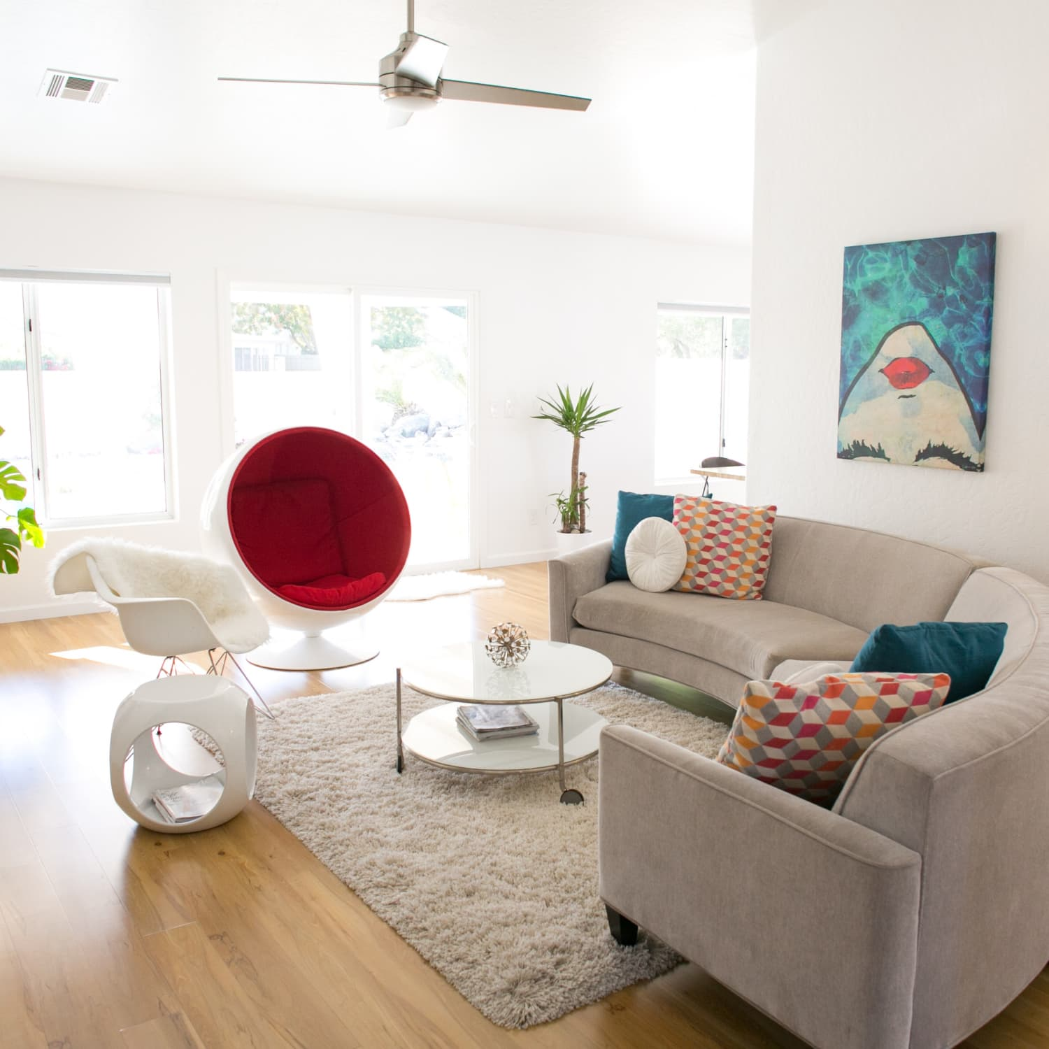 Mid Century Modern Gut Remodel House Inspiration Apartment