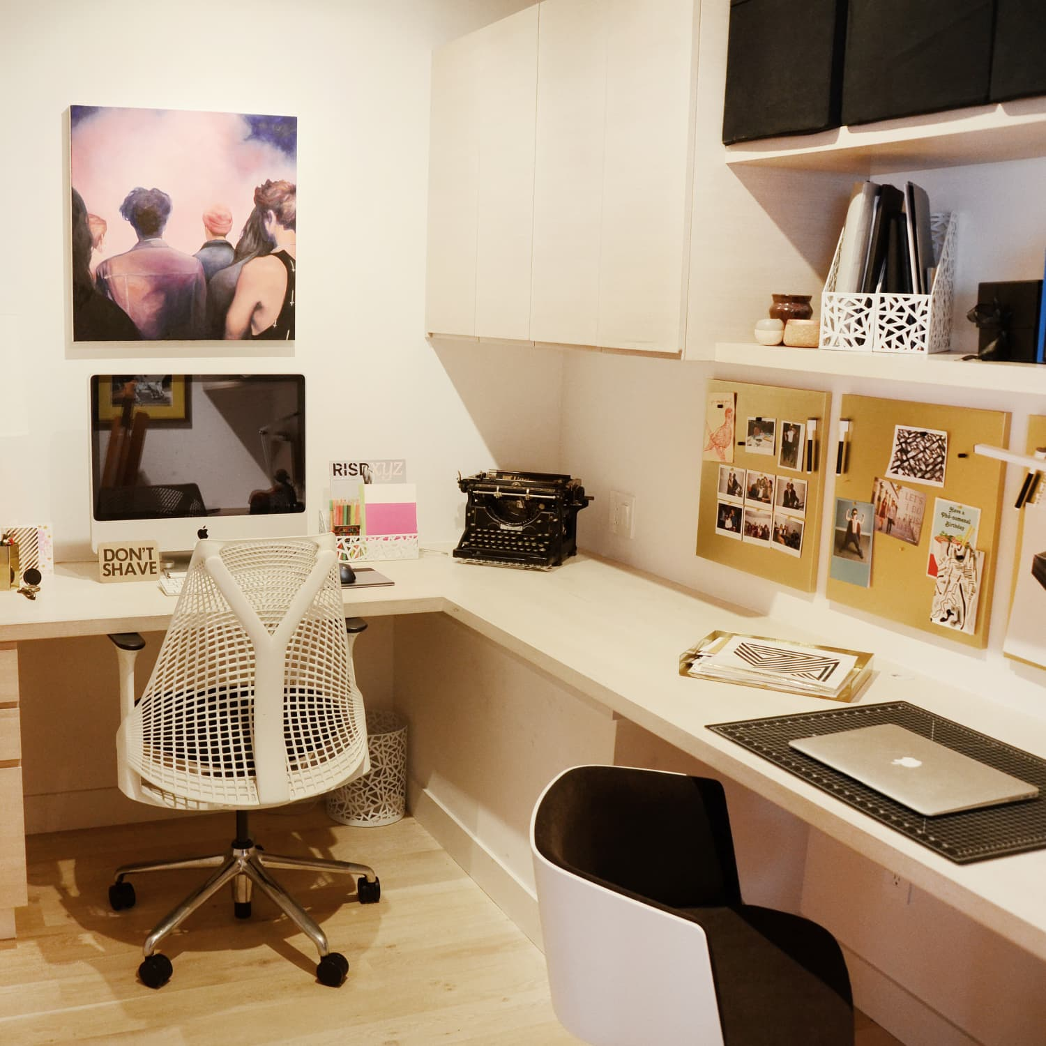 How To Make A Small Windowless Office Feel Bigger Apartment Therapy