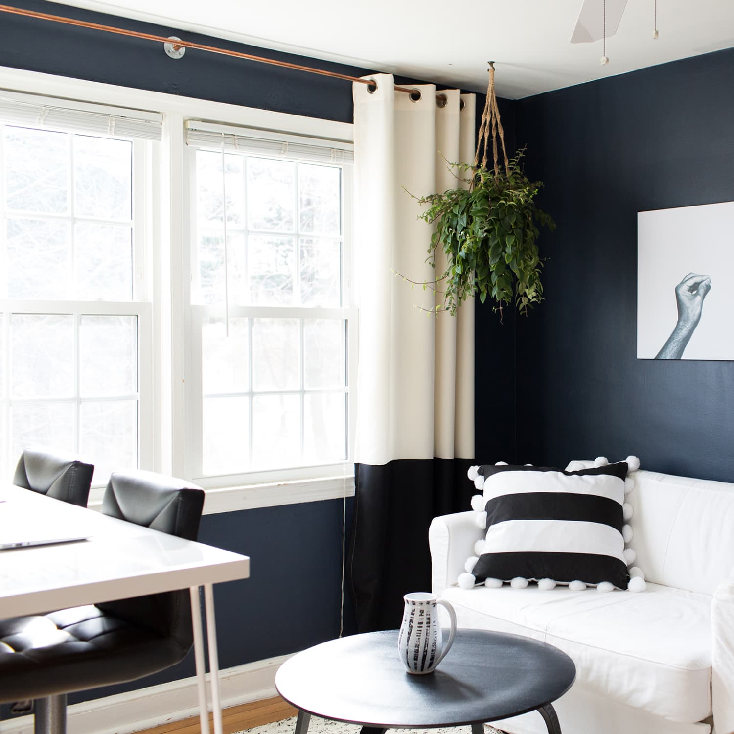 Stylish Black Room Ideas Decorating With Black Paint Apartment Therapy