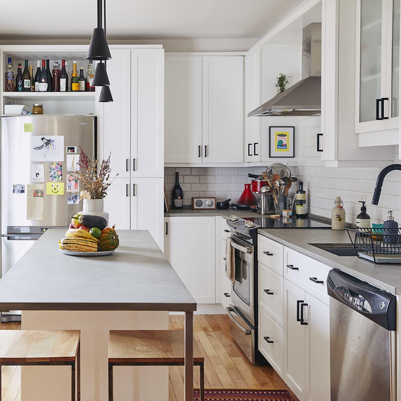 Easy Kitchen Decor Ideas Apartment Therapy