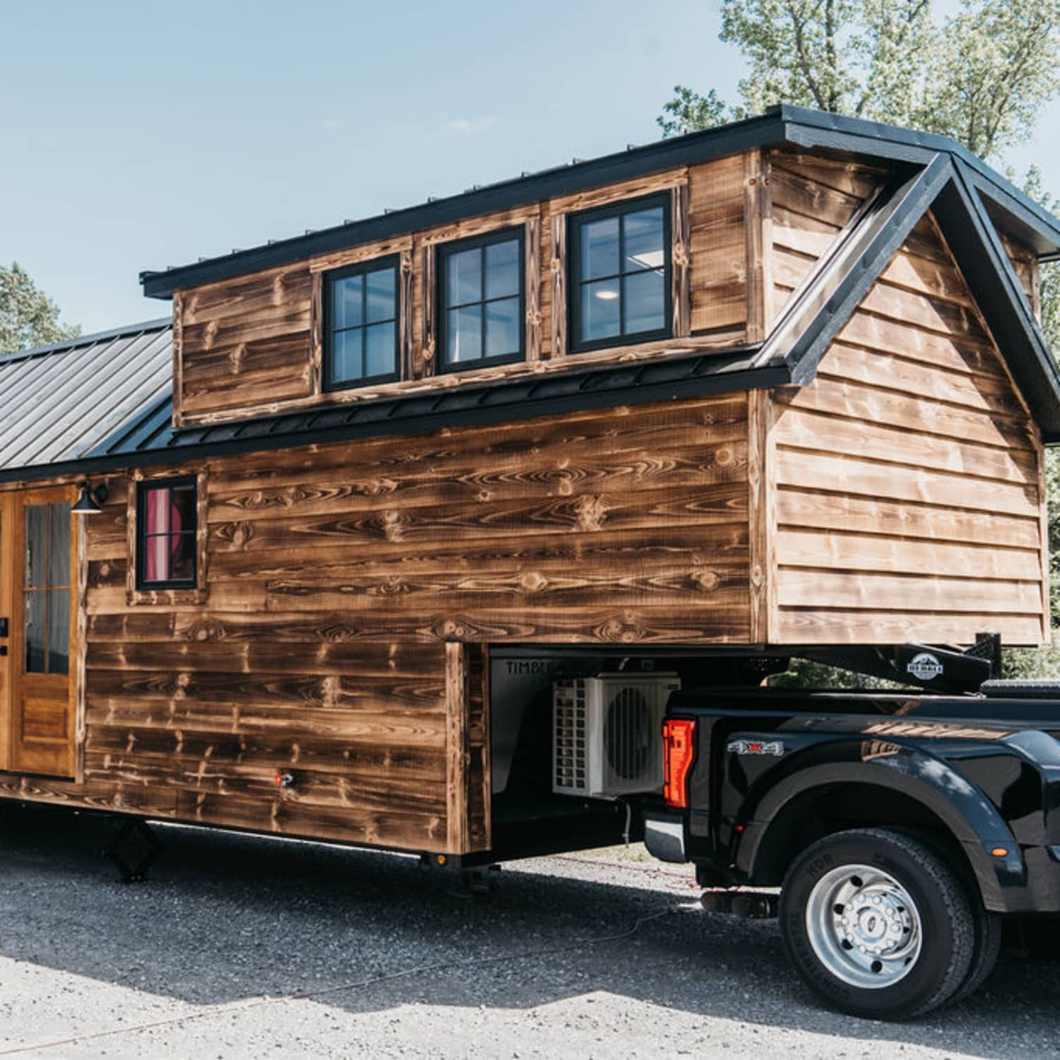 Denali XL Rustic Tiny House  Apartment Therapy