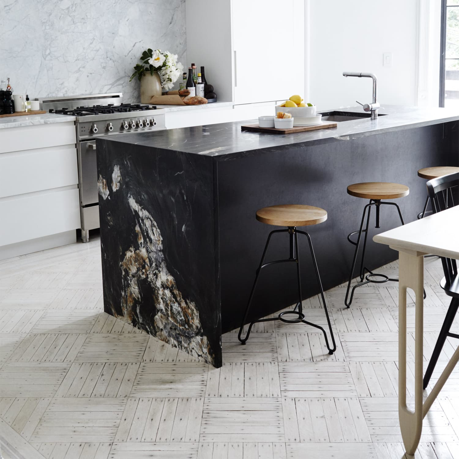 Kitchen Design Black Marble Is The New White Marble Apartment Therapy