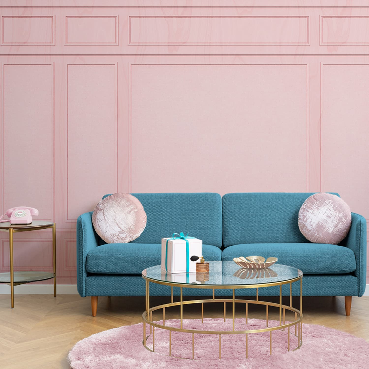 Wes Anderson Coffee Table Book.Wes Anderson Wallpaper Design Apartment Therapy