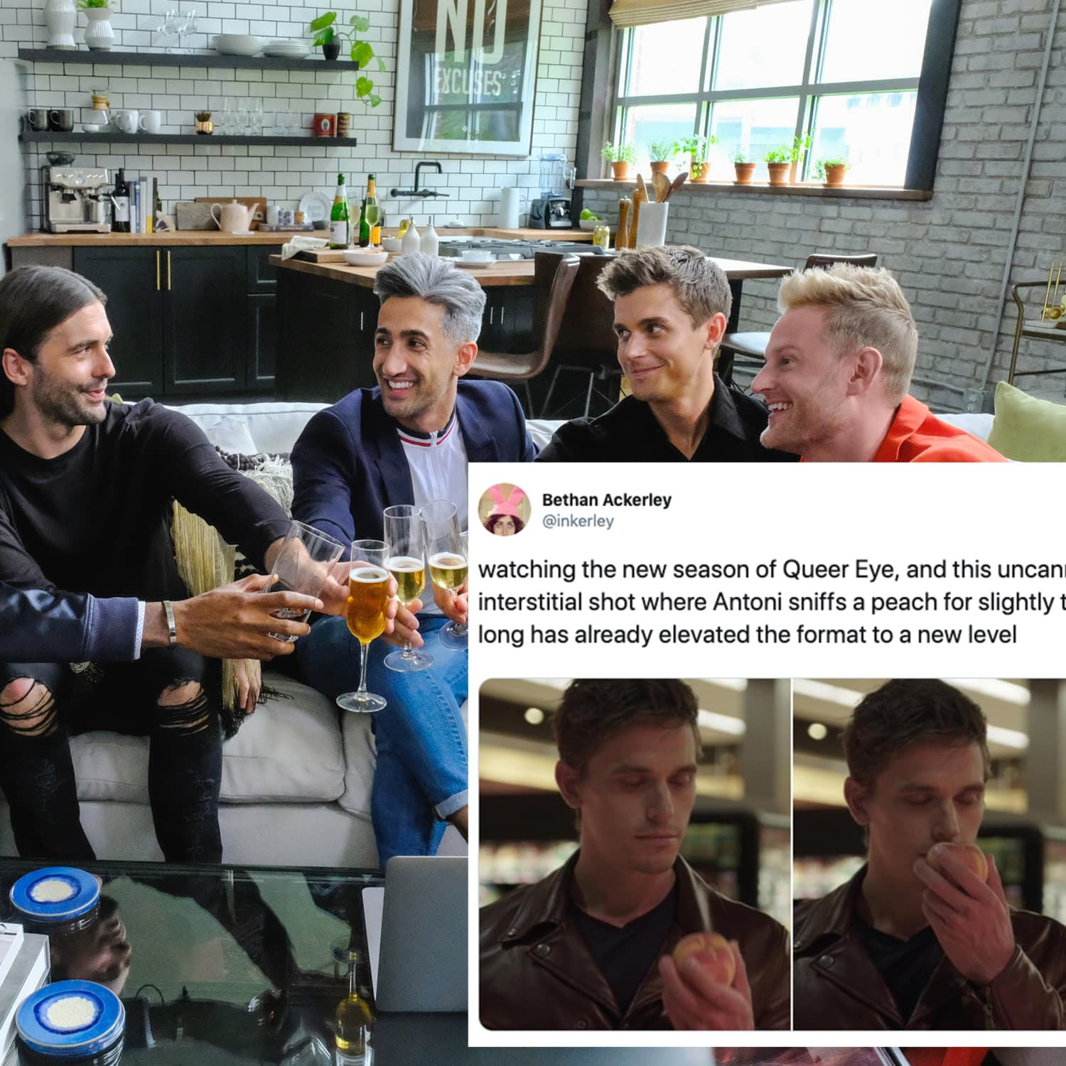 """The 10 Best """"Queer Eye"""" Season 4 Twitter Reactions 