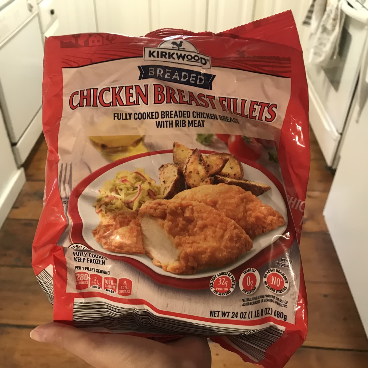 Aldi Kirkwood Chicken Fillets Review Kitchn