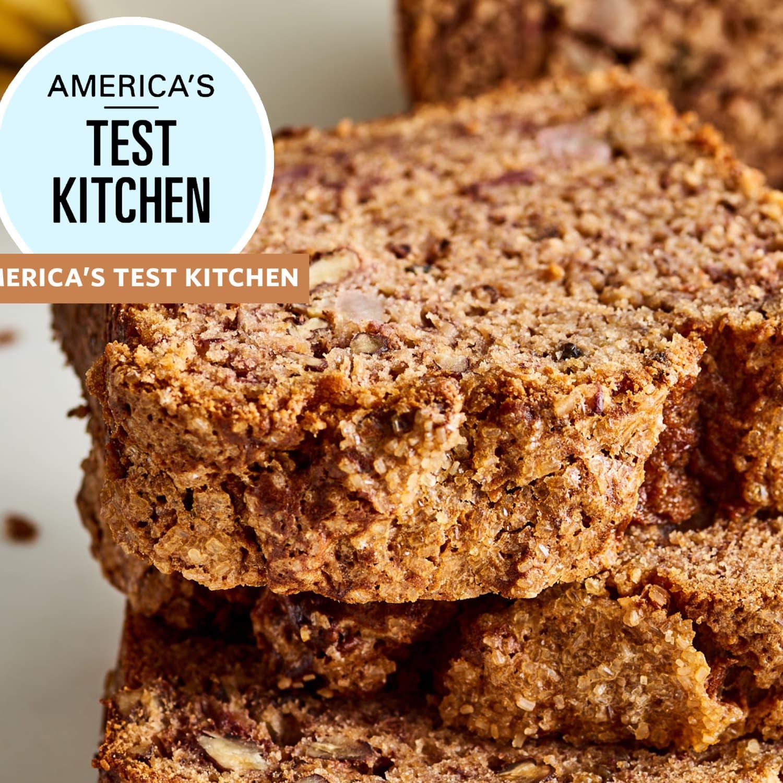 America S Test Kitchen Banana Bread Recipe Review Kitchn